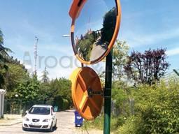 Сферическое зеркало D800, дорожное зеркало D800, зеркало для выезда с парковки