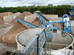 Сгуститель CDE, очистка воды, используемой в промывке щебня
