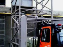 Шахтный электрический подъёмник (лифт) приставной на 1. ..