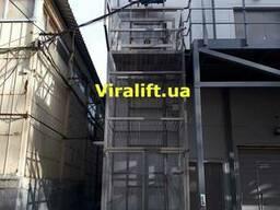 Шахтный грузовой лифт Украина