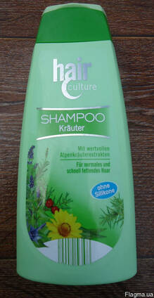 "Шампунь ""Hair culture Shampoo krauter"", 500 мл."