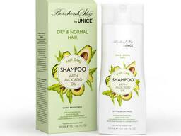 Шампунь безсульфатний з маслом авокадо для нормального і сухого волосся BorzhemSky, 300 мл