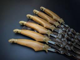 Шампуры Медвежья лапа в чехле из плотной ткани 6шт