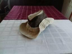 Шапка для бани и сауны капелюх для бані Веники для бани