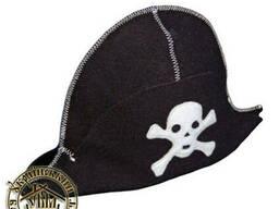 Шапка для бани Пират. Банная шапочка