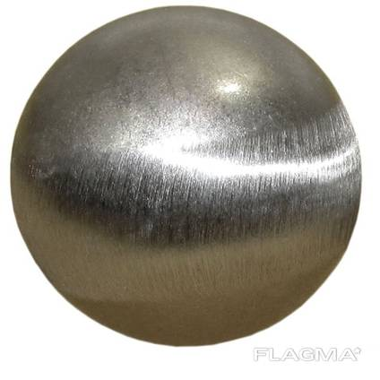 Шар диаметр 50 мм. цельнометаллический гладкий.