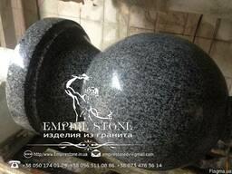 Шар гранитный, шар из натурального камня - фото 2