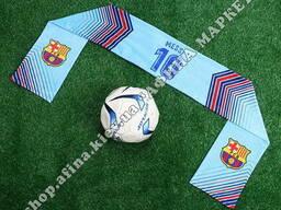 Шарф из кашемира Messi 10 Барселона Blue Шарф 2561