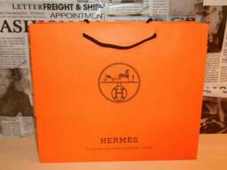 Пакет фирменный подарочный оригинальный Hermes, Франция