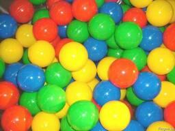 Шарики для сухих бассейнов, мячи, пластмассовые шарики