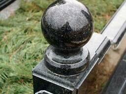 Шары гранитные (черные) из габбро диаметр 10 см