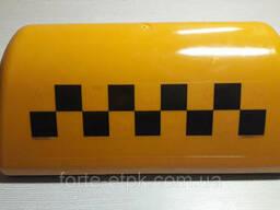 Шашка такси желтая