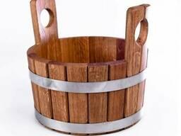 Шайка для бани 15л из дуба