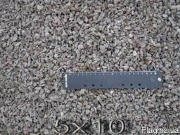 Щебень гранитный фр.5*10 мм