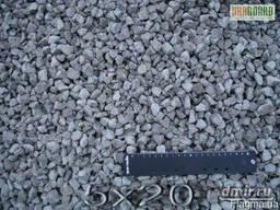 Щебень гранитный фр.5*20 мм.