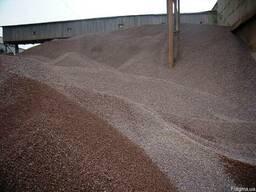 Щебень гранитный, кварцитный, известковый, песок