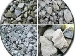 Щебень, минеральный порошок