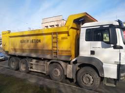 Чернозем, Гран отсев Доставка самосвалами 30 и 40 тонн