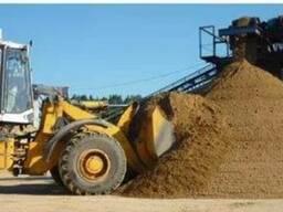 Щебнь 5-10 5-20 20-40, песок речной овражный, отсев.