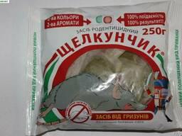 Щелкунчик - тесто Сыр Арахис от крыс и мышей 250 г оригинал