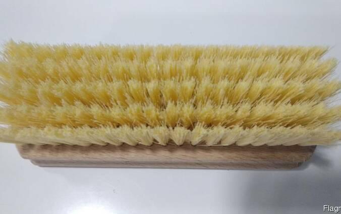 Щетка для одежды на деревянной колодке