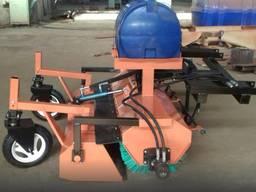 Щетка коммунальная (дорожная) 2,0 м з баком для воды и бункером для мусора