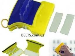 Щетка магнитная для двухстороннего мытья стекол Cleaning Dou
