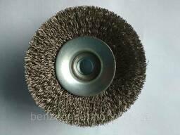 Щетка проволочная Bosch 100 мм из нержавеющей стали. ..