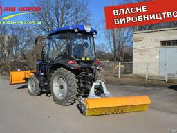Щетка уборочная дорожная коммунальная на любой мини трактор