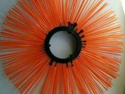 Щетки дисковые 120х550, диск щеточный полипропиленовый - фото 3