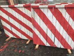 Переносной забор, деревянный.