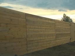 Забор строительный Буча Киев