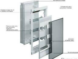 Щит розподільчий на 12 модулів, в/у з прозорими дверцятами