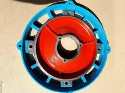 Щит задний двигателя тельфера.