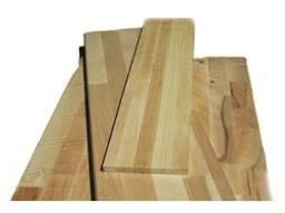 Щити меблеві: бук, дуб, ясен, сосна, смерека