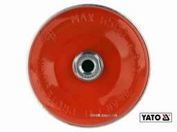 Щітка чашка зачисна зі сталевих плетених дротів до КШМ YATO Ø125 мм 6500 об/хв М14
