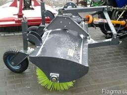 Щётка дорожная коммунальная 1.5 м (без кардана) для трактора - фото 3