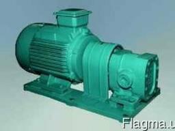 Насос агрегат НМШ 0,8-25-0,63/10 – объемный насос для масла.
