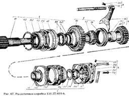 Вилка включения рядов 151.37.356 к тракторам Т-150К, ХТЗ