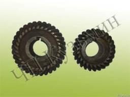 Шестерни конические, спиральные к фрезерной головке станков