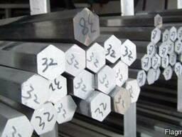 Шестигранник калиброванный 5-80мм ст. 20 ст. 35 ст40х, ст45