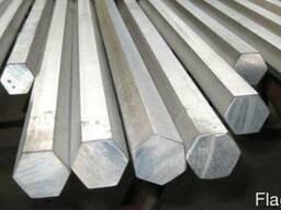 Шестигранник стальной калиброванный сталь 20, 35, 45