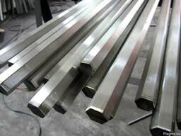 Шестигранник стальной 40х 21 19 35 85 60 мм [Опт и Розница] от 1 кг