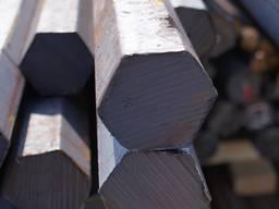 Шестигранник стальной 35хгса 21 19 35 85 60 мм [Опт и Розница] от 1 кг