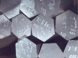 Шестигранник калиброванный сталь ст 45, ф 45мм h11. ..