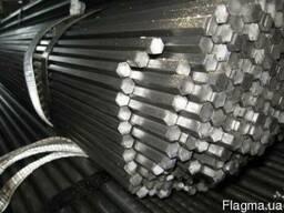 Шестигранник стальной калиброванный ст10 ст20 ст35 ст45 ст40