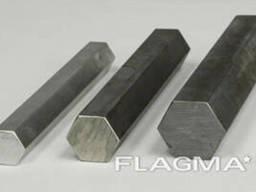 Шестигранник стальной сталь 3, 20, 35, 45, ст 65Г по ГОСТ. ..