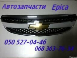 Шевроле Эпика капот, решетка радиатора.