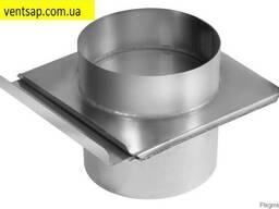 Шибер нержавеющая сталь 0, 8 мм, диаметр 120 мм