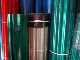 Шифер прозрачный армированный пластиковый в рулонах Акция